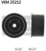 Ролик натяжителя ремня (паразитный, ведущий) SKF VKM 25212