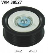 Ролик натяжителя ремня (паразитный, ведущий) SKF VKM 38527