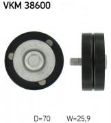 Ролик натяжителя ремня (паразитный, ведущий) SKF VKM 38600