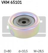 Ролик натяжителя ремня (паразитный, ведущий) SKF VKM 65101