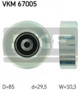 Ролик натяжителя ремня (паразитный, ведущий) SKF VKM 67005