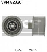 Ролик натяжителя ремня (паразитный, ведущий) SKF VKM 82320