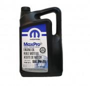 Оригинальное моторное масло Chrysler Mopar MaxPro 0W-20 (68218951AC, 68218950AB)