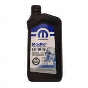 Оригинальное моторное масло Chrysler Mopar MaxPro 0W-20 (68218950AB) 0.946л