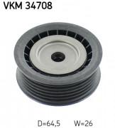 Ролик натяжителя ремня SKF VKM 34708