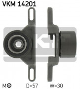 Ролик натяжителя ремня SKF VKM 14201