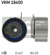 Ролик натяжителя ремня SKF VKM 18400