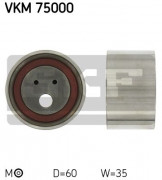 Ролик натяжителя ремня SKF VKM 75000