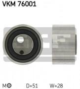 Ролик натяжителя ремня SKF VKM 76001