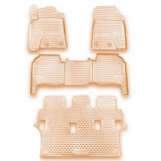 Коврики в салон Novline / Element NLC.48.53.212k для Toyota Land Cruiser 200 (2012-2015) 4шт