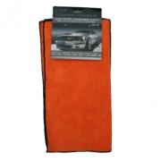 Двустороннее микрофибровое полотенце для полировки восков, полимеров и силантов на ЛКП автомобиля Angelwax Dual Action Microfiber Cloth ANG51112 (2шт)