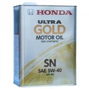 Оригинальное моторное масло Honda Ultra Gold SN 5w40 08220-99974