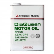 Оригинальное моторное масло Mitsubishi Dia Queen Motor Oil SN 5w30 (MZ102701)