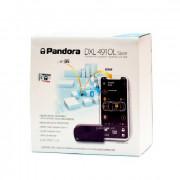 Автосигнализация Pandora DXL 4910L Slave c автозапуском, GSM, GPS, Bluetooth