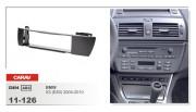 Переходная рамка Carav 11-126 BMW X3 E83 (2001-2010), 1din