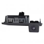 Камера заднего вида с активной (динамической) разметкой Prime-X TR-08 CAN+IPAS для Audi, Skoda, Volkswagen (в ручку багажника)