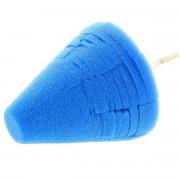 Мягкий конусный круг для нанесения восков, полимеров, силантов и других защитных покрытий Monello Uni-Cone Blue Ultra Finishing Cone 88-940СONE
