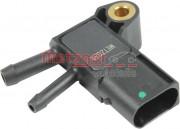Датчик давления выхлопных газов METZGER 0906215