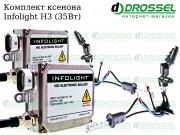 Ксенон Infolight H3 35W (3000K, 4300K, 5000K, 6000K, 8000K) Xenon