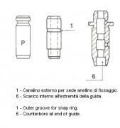 Направляющая клапана METELLI 01-S2853