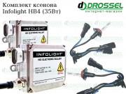 Ксенон Infolight HB4 35W (9006) (3000K, 4300K, 5000K, 6000K, 8000K) Xenon