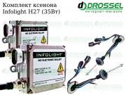 Ксенон Infolight H27 35W (3000K, 4300K, 5000K, 6000K, 8000K) Xenon
