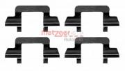 Монтажный комплект тормозных колодок QUICKBRAKE METZGER 109-1243