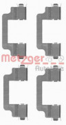 Монтажный комплект тормозных колодок QUICKBRAKE METZGER 109-1727