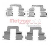 Монтажный комплект тормозных колодок QUICKBRAKE METZGER 109-1731