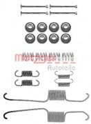 Монтажный комплект тормозных колодок METZGER 105-0003