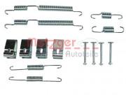 Монтажный комплект тормозных колодок METZGER 105-0017