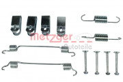 Монтажный комплект тормозных колодок METZGER 105-0019