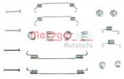 Монтажный комплект тормозных колодок METZGER 105-0034