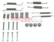 Монтажный комплект тормозных колодок METZGER 105-0569