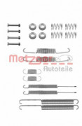 Монтажный комплект тормозных колодок METZGER 105-0598