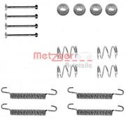 Монтажный комплект тормозных колодок METZGER 105-0791