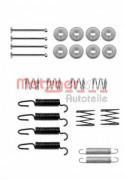 Монтажный комплект тормозных колодок METZGER 105-0816