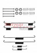 Монтажный комплект тормозных колодок METZGER 105-0817