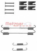 Монтажный комплект тормозных колодок METZGER 105-0862