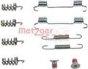Монтажный комплект тормозных колодок METZGER 105-0874