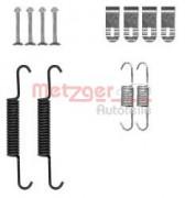 Монтажный комплект тормозных колодок METZGER 105-0881