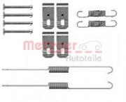 Монтажный комплект тормозных колодок METZGER 105-0888