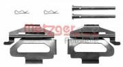 Монтажный комплект тормозных колодок METZGER 109-1225