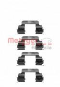 Монтажный комплект тормозных колодок METZGER 109-1231
