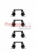 Монтажный комплект тормозных колодок METZGER 109-1236