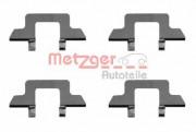 Монтажний комплект гальмівних колодок METZGER 109-1242