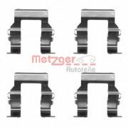 Монтажний комплект гальмівних колодок METZGER 109-1279