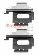 Монтажный комплект тормозных колодок METZGER 109-1282
