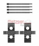 Монтажный комплект тормозных колодок METZGER 109-1611