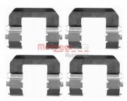 Монтажный комплект тормозных колодок METZGER 109-1617